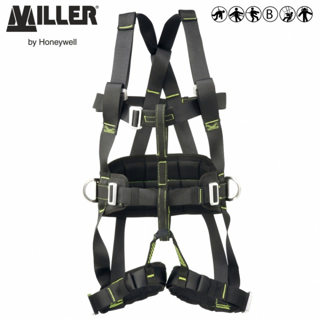 IBX2R FULL BODY HARNESS<br/><br/>Designed for specialists working hands-free at height or in rescue<br/><br/>- 3 POINT + workpositioning<br/><br/>Rear, sternal and ventral anchorage (loops) and workpositioning side anchorage with belt and padded leg strapss<br/><br/>BENEFITS: Excellent suspension comfort<br/><br/>• Belay connection link distributes the loads to larger muscle groups<br/><br/>• Reduces discomfort<br/><br/>• Minimises suspension trauma<br/><br/>• Easy to fit<br/><br/>FEATURES: Fall arrest and work-positioning<br/><br/>• Ventral and sternal front webbing loops anchorages<br/><br/>• Anchorage point for a descender and fall arrest device<br/><br/>• Advanced buckling system<br/><br/>Ref.                   Size<br/><br/>WITH TOOLS SYSTEM<br/><br/>- 10 073 86  - S<br/><br/>- 10 070 22 - M/L<br/><br/>- 10 073 87 - X/L<br/><br/>- 10 102 69 - M/L (black)<br/><br/>WITHOUT TOOLS SYSTEM<br/><br/>- 10 070 21 - M/L<br/><br/>Conforms to EN361, EN358 and EN813