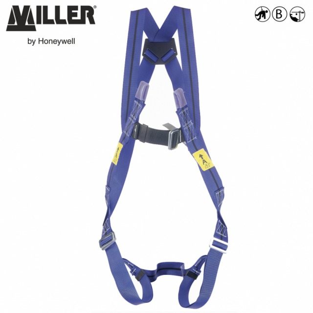 TITAN I                <br/><br/>2 POINT Front and rear anchorage (front webbing loops)<br/><br/>BENEFITS: Lightweight<br/><br/>• Fully adjustable design so one size fits all<br/><br/>• Sliding back D-ring for a comfortable fit<br/><br/>FEATURES: Ensuring safety and compliance on the jobsite<br/><br/>• Durable polyester webbing<br/><br/>• Sub-pelvic strap keeps the wearer upright<br/><br/>• Manual chest and leg buckles<br/><br/>• 45 mm chest strap with metal buckle<br/><br/>Ref. - 10 118 91<br/><br/>Conforms to EN361