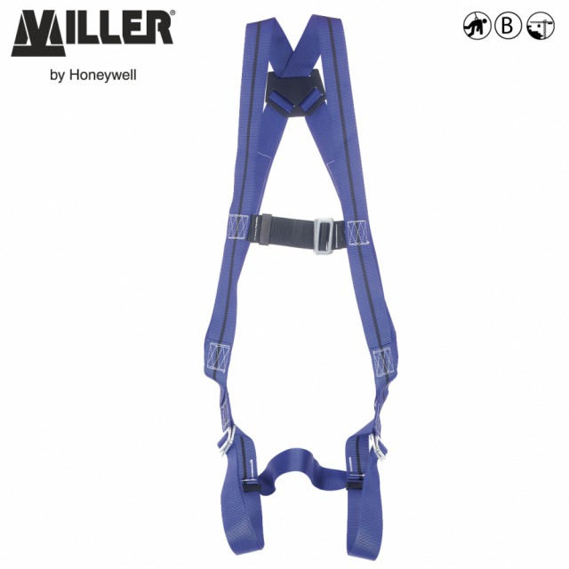 TITAN II                       <br/><br/>Cost effective choice for fall protection<br/><br/>1 POINT Rear anchorage<br/><br/>BENEFITS: Lightweight<br/><br/>• Fully adjustable design so one size fits all<br/><br/>• Sliding back D-ring for a comfortable fit<br/><br/>FEATURES: Ensuring safety and compliance on the jobsite<br/><br/>• Durable polyester webbing<br/><br/>• Sub-pelvic strap keeps the wearer upright<br/><br/>• Manual chest and leg buckles<br/><br/>• 45mm chest strap with metal buckle<br/><br/>Ref. 10 118 90<br/><br/>Conforms to EN361