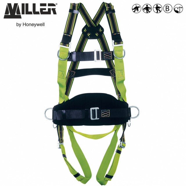 DURAFLEX® MA58         <br/><br/>2 POINT + workpositioning<br/><br/>Rear and front anchorages with workpositioning belt<br/><br/>BENEFITS: Elasticated webbing<br/><br/>• Greater comfort<br/><br/>• Increase durability<br/><br/>FEATURES: Stretch webbing<br/><br/>• DuraFlex® elastomer webbing<br/><br/>• Webbing repels water, oil, grease and dirt<br/><br/>• Work positioning belt with 2 side D-rings<br/><br/>• Manual buckles at chest and legs<br/><br/>• 2 Sternal D-rings<br/><br/>Ref.                  Size<br/><br/>- 10 028 58  - S<br/><br/>- 10 028 57  - M/L<br/><br/>- 10 049 54 XXL<br/><br/>Conforms to EN361 and EN358