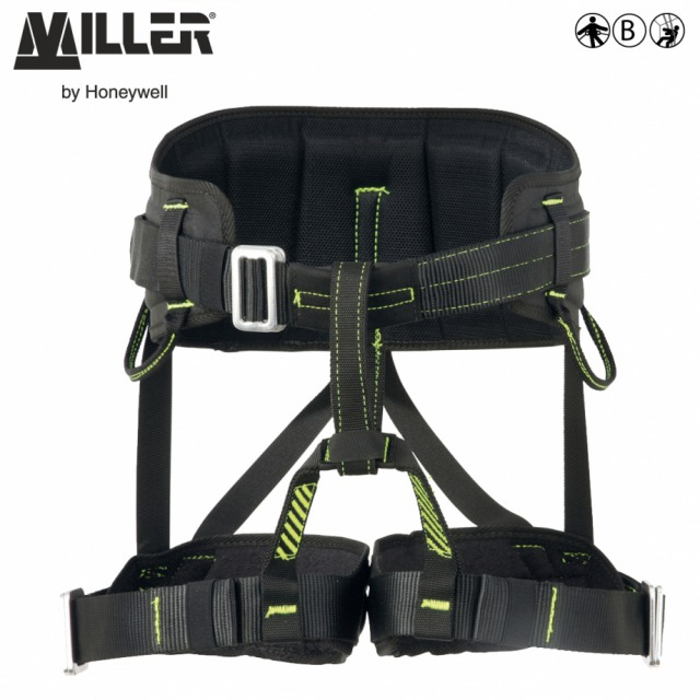 RAM                        <br/><br/>Flexible sit harness is suitable for mountain rescue technicians where the harness is worn for short durations only sit harness<br/><br/>BENEFITS: Comfortable work position<br/><br/>• Easy to fit<br/><br/>• Belay connection link distributes the loads to larger muscles groups<br/><br/>• Minimises discomfort and suspension trauma<br/><br/>• Padding provides excellent support and comfort during suspension<br/><br/>FEATURES: Sit harness<br/><br/>• Waist belay loop for rescue and rope access<br/><br/>• Padded belt and leg straps<br/><br/>• Belt with equipment loops<br/><br/>• Lightweight<br/><br/>Ref.                     Size:<br/><br/>- 10 073 90 - S<br/><br/>- 10 070 25 - M/L<br/><br/>- 10 0 73 91 - XL<br/><br/>BLACK<br/><br/>- 10 102 51 - S<br/><br/>- 10 102 52 - M/L<br/><br/>- 10 102 53 - XL<br/><br/>Conforms to EN813