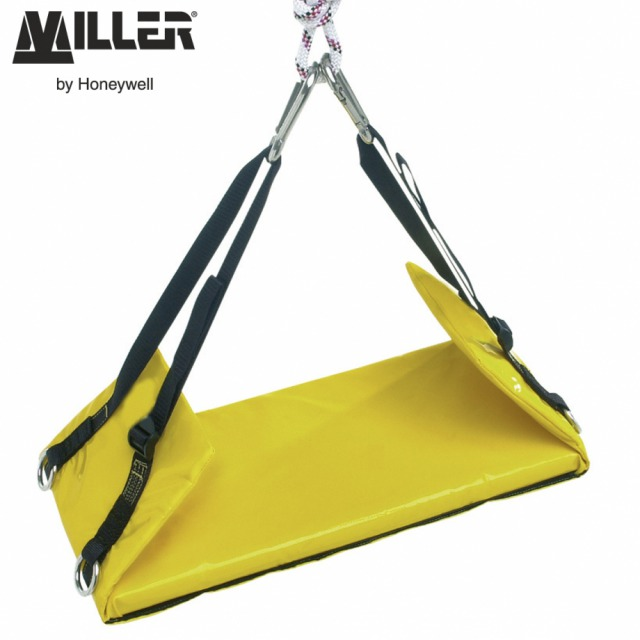 INDUSTRIAL CLIMBERS SEAT<br/><br/>BENEFITS: Seat offers a comfortable supported position for the operator<br/><br/>• Use in conjunction with a suitable safety harness<br/><br/>FEATURES:<br/><br/>• Padded seat with waterproof, abrasion-resistant PVC coated nylon covering<br/><br/>• Supplied with two connectors<br/><br/>• Adjustable straps for perfect fit<br/><br/>• Complete with convenient attachment points for accessories<br/><br/>Ref. - 10 070 56