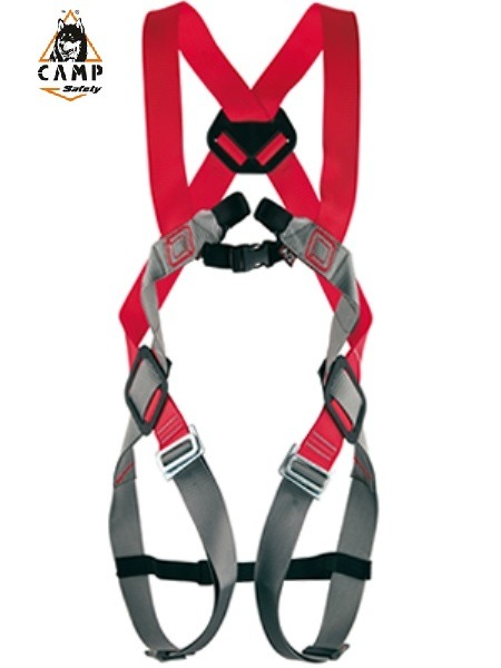 BASIC DUO                      <br/><br/>Full body harness with 2 attachment points: 1 front, 1 back. Easy positioning Belt (ref.1268) can be attached for added comfort. Steel components. One size fits all.<br/>