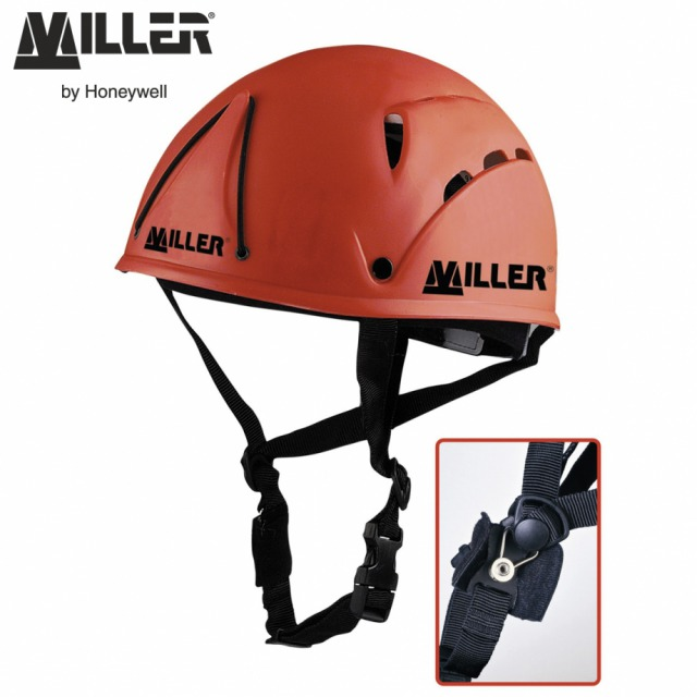 CLIMBERS HELMET<br/><br/>BENEFITS: Protects from impacts from above and side<br/><br/>FEATURES:<br/><br/>• Polypropylene climbers helmet with fully adjustable cotton lining and good air circulation reduces the build up of moisture<br/><br/>• Comfortable skull webbing and chin strap<br/><br/>• Fitted with attachment point for head torch<br/><br/>• Weight: 410 g<br/><br/>Ref.                colour<br/><br/>- 10 070 48 - red<br/><br/>Conforms to EN397